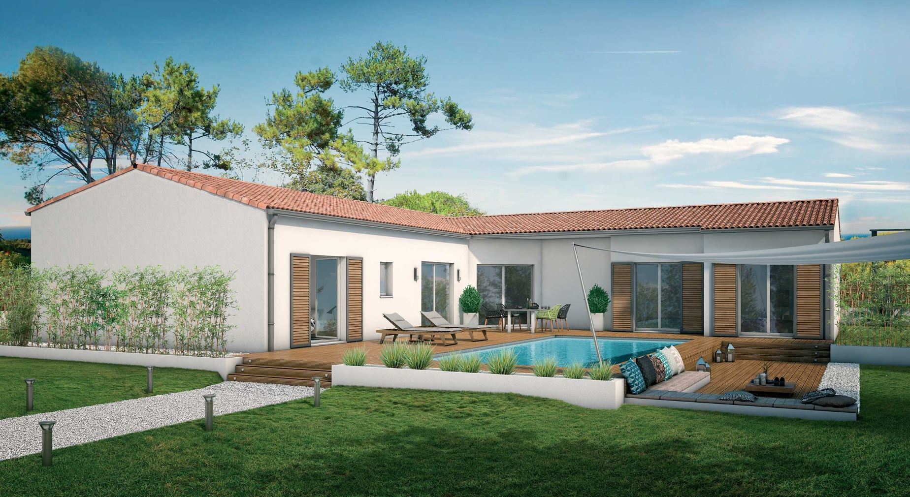 Maison permis construire architecte Lyon