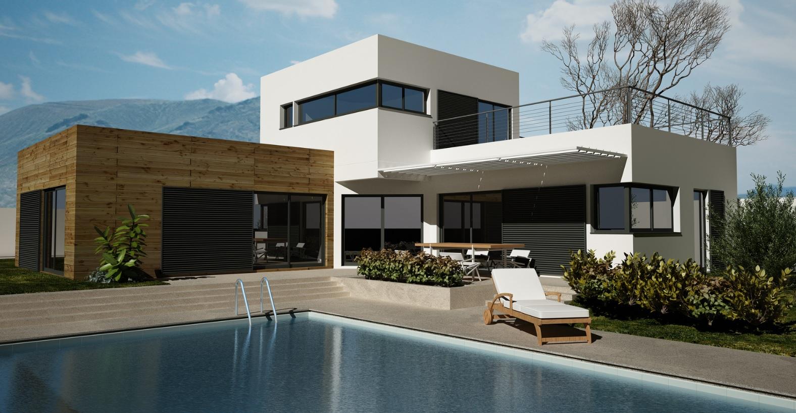 Maison Architecte contemporaine proche de Montpellier